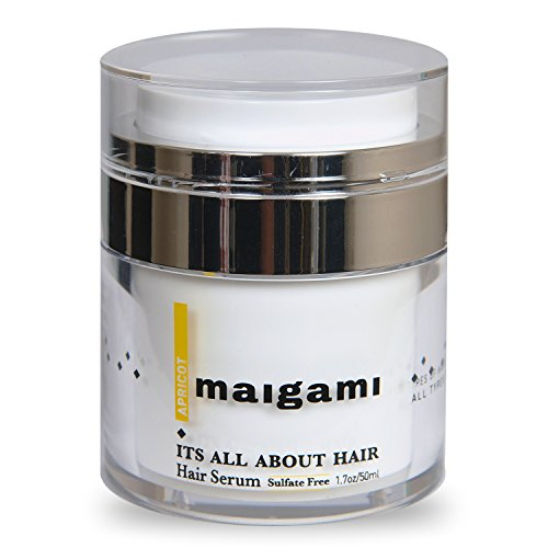 Maigami Luxury Hair Serum Repair Dry And Damaged Hair, Sulfate Free Treatment, Amazing For Color Treated Hair after Shampoo for All Hair Types - 1.7 oz ()