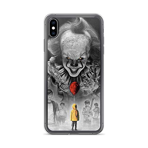The Club Kings Cross Halloween (TeeTan Compatible with iPhone Xs Max Pure Clear Case Cases Cover IT Pennywise Balloon Losers Club Stephen King)
