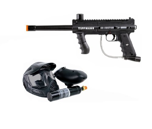 Tippmann 98 Custom Platinum Series .68 Caliber Paintball Marker with ACT PowerPack Kit