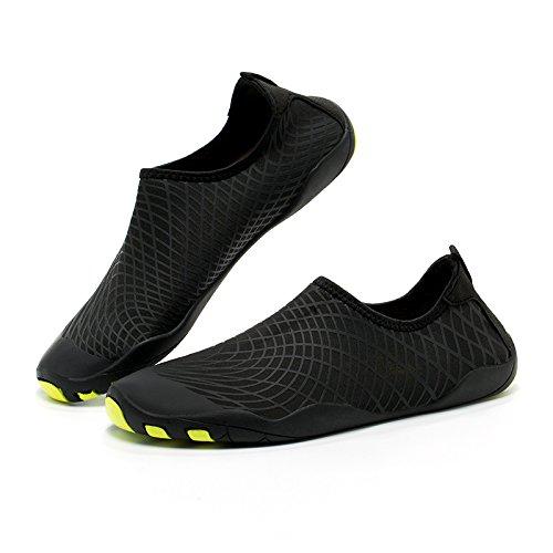 Guidare Giardino Turismo Swim Lago ByBetty Pelle Nero Scarpe Barefoot per Parco multifunzionali Spiaggia Donna Quick Dry Scarpe Acqua Uomo 74ZAnPx7T