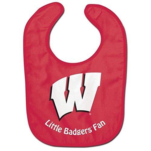 Wisconsin Badgers All Pro NCAA Baby Bib
