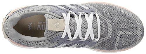 Adidas Kvinners Energi Boost 3 M Kvinner Løpesko Mid Grå S14 / Mørk Marineblå / Damp Rosa F16