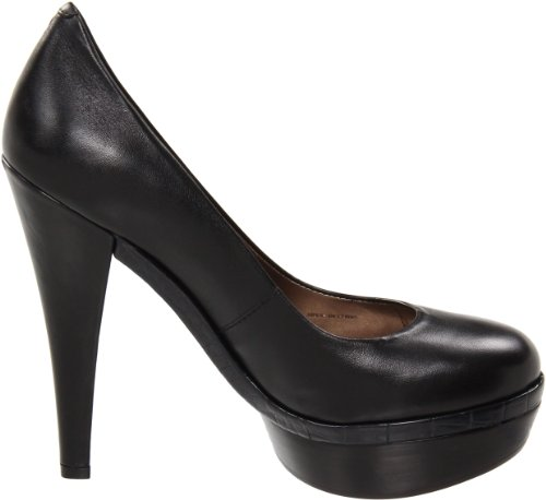 HK by Heidi Klum Womens Georgia Platform Pump Black laovuK
