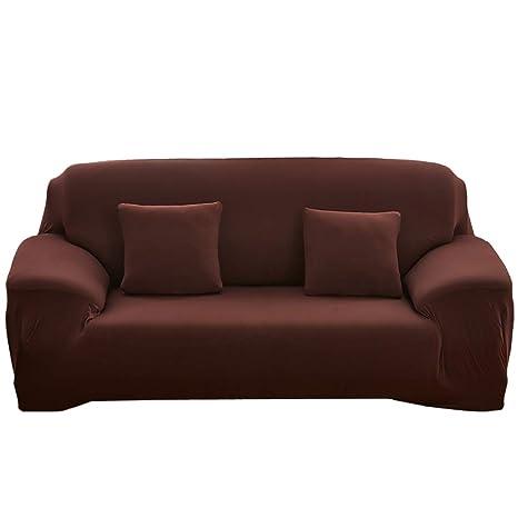 Amazon.com: Funda de sofá elástica, de algodón de alta ...