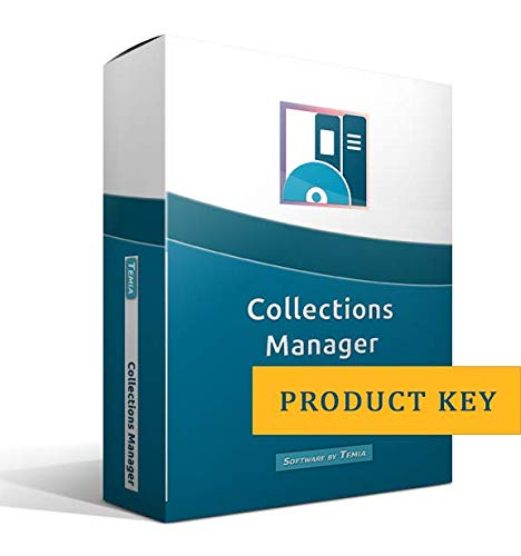 Collections Manager [link to download the program, without CD] by Temia