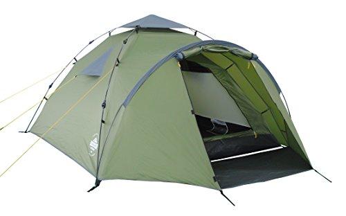 Lumaland Outdoor Where Tomorrow Pop Up Familienzelt Wurfzelt 2-3 Personen Zelt Wasserdicht Camping Reise Trekking…