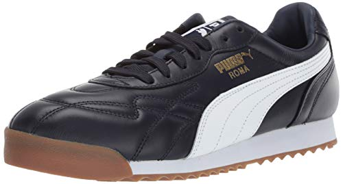 PUMA Men's Roma Anniversario Sneaker, Black