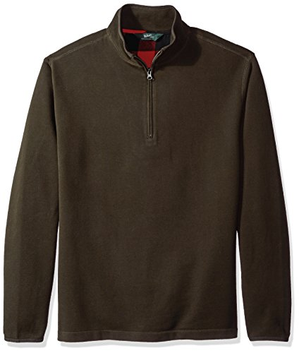 Woolrich Men's Boysen Half Zip Sweatshirt Ii, Dark Loden, Extra Large