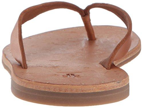 Brown Ally Flip Women's Flop Frye Logo x0wB7qYXR