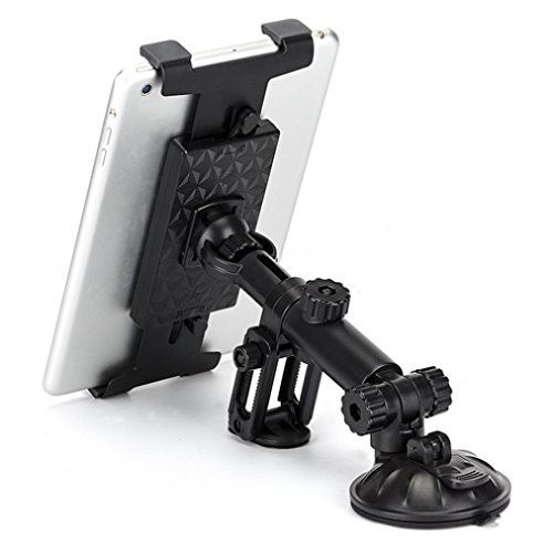 Universal Car Dashboard Mount Suction High Quality Tablet Holder for ASUS Memo Pad ME102 10.1 - Barnes & Noble NOOK Color - Barnes & Noble NOOK HD- Samsung GALAXY Note 10.1