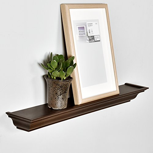 Welland Traditional Crown Molding Wall Shelf 36 Inch
