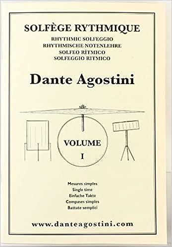 Dante Agostini Solfeggio Ritmico Vol 1 Pdf