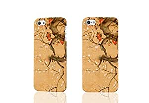 Blooming Tree 3D Rough iphone 5 5s Case Skin, fashion design image custom iphone 5 5s , durable iphone 5 5s hard 3D case cover for iphone 5 5s Case New Design By Codystore