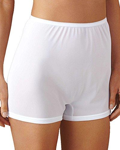 Short Leg Panties (Dixie Belle Flare Leg Panty, White, 7, 3-pk)