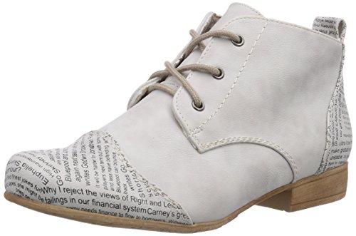 Rieker 47042 - botas desert de material sintético mujer blanco - Weiß (ice / 81)