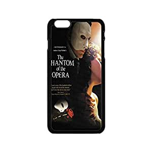Innovative Smooth TPU Case for iPhone 5C Cover with Phantom of the Opera -Black031206