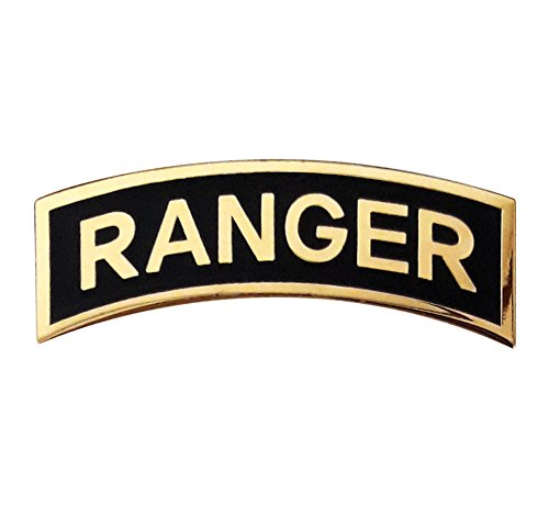 - US Army RANGER Tab Insignia Metal Badge Pin (Large Size)