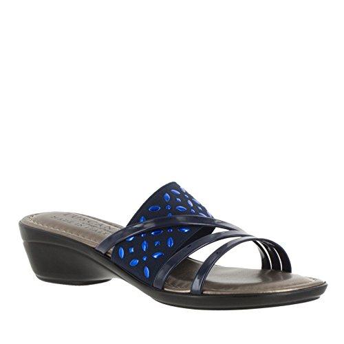 Easy Street Atessa Mujer US 6.5 Azul Grande Sandalia