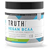 Truth Nutrition Fermented Vegan BCAA Protein Powder - 2:1:1 Powerful All Natural Branched Chain Amino Acids - Pure BCAAS Promote Enhanced Muscular Endurance, Energy, Stamina & Recovery (Watermelon)
