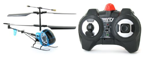 INFRARED CONTROLLED Super Fly Mini Hughes 3CH Electric RTF Remote Control RC Helicopter (Color May Vary)