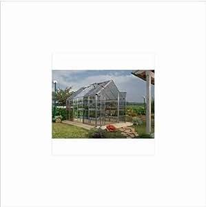 Palram Snap & Grow 6' Series Hobby Greenhouse Extension Kit - 6 x 4 x 7 Silver