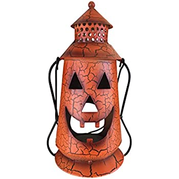 Metal Jack O Lantern Bucket