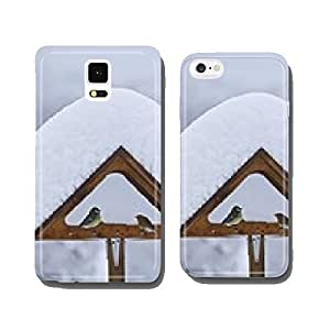house birds titmouse snow cell phone cover case Samsung S6