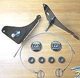 Dodge Challenger Hood Pin Kit Set of (2) Hood Locks Mopar OEM