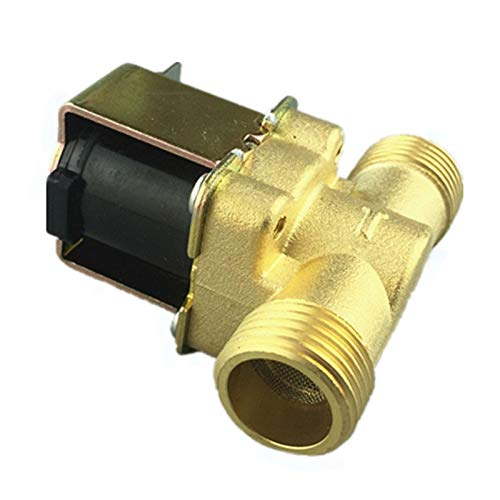 1pc Electronic Solenoid Valve 1//2 Normally Closed Copper Body Water Valve Have Filter 220Vac Color : 220V WSF-Adapters