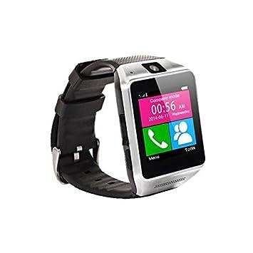 Relojes Bluetooth, Kool(TM) Negro Reloj Multi-funcional Bluetooth con Pantalla de 1.54 Pulgadas Podómetro Anti-Pérdida Funciones Integradas de Llamadas ...