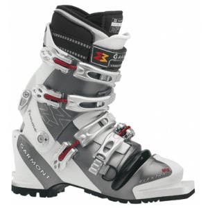 - Elektra Mg Telemark Boots - Women's White/Grey 23.5 by Garmont