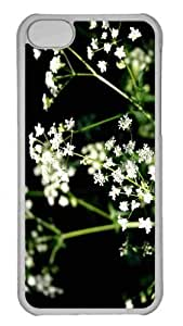 Andre-case Customized iphone 6 4.7'' PC Transparent case cover - hsuv6ZkKZnK White Wildflowers Photography Personalized Cover