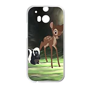 Bambi II HTC One M8 Cell Phone Case White Vnkat