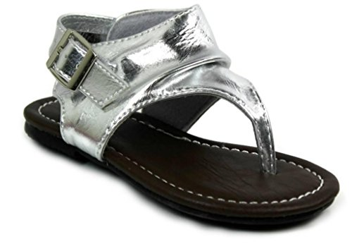 Kali Footwear Little Girl Aroma JR Slouch Slingback Flat Sandal 2