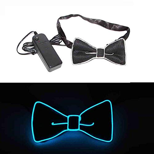 Mydio Light Up Bow Tie,LED Bow Tie with Switch Controller for Costume Party, Party, birthday Party, Halloween, Carnival