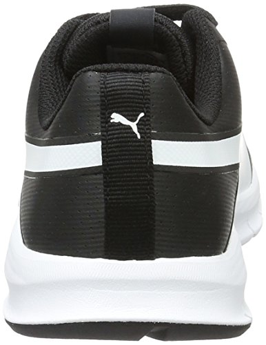 Puma Unisex-Erwachsene Flexracer SL Low-Top, Schwarz Black White 04, 40.5 EU