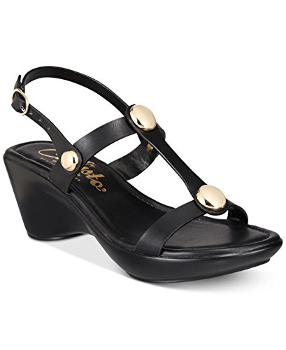 Sandals Womens Casual Toggle Toe Black Open Slingback Callisto IYxqdwvTY