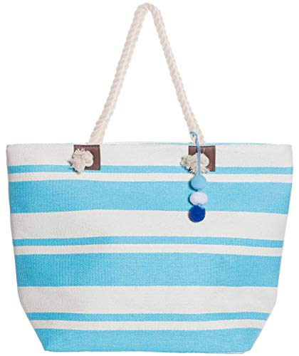 Perfect Straw Beach Bag for multiple accessories