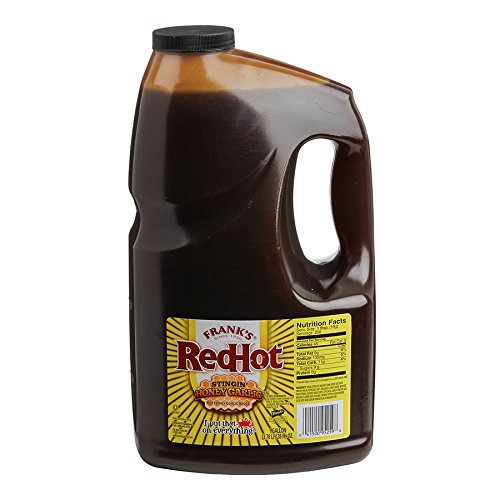 - Frank's RedHot Stingin' Honey Garlic Sauce, 1 gal
