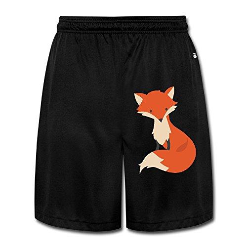 Fox Men's Short Pants Yoga Sweatpants Performance Shorts Workout Sweatpants Gym Sweatpants XL (Fox News The Five Halloween Costumes)