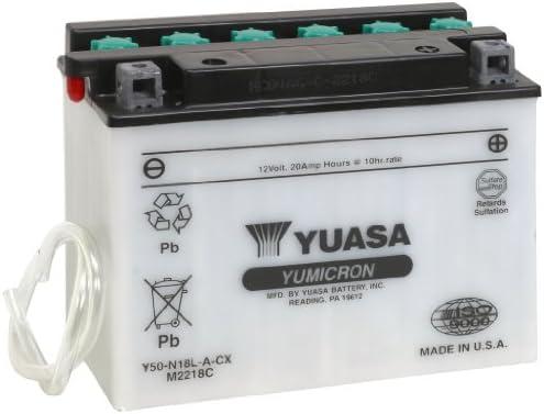YUASA-Y50 N18L A-CX-Batteria per Moto