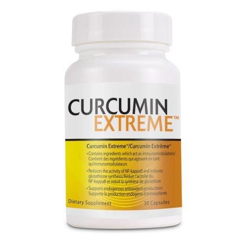 La curcumine extrêmes, curcumine BCM-95 400mg, 30 capsules