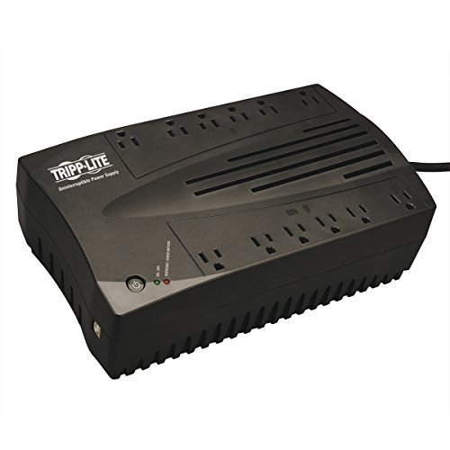 (Tripp Lite 750VA UPS Battery Backup, 450W AVR Line Interactive, USB, Ultra-Compact)