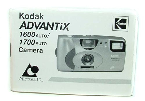 Kodak Advantix 1600 Auto / 1700 Auto Camera Manual