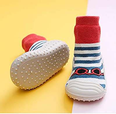 YOUU Baby Socks With Rubber Soles Newborn Non-slip Breathable Children Toddler Shoes Socks