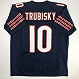 Unsigned Mitchell Trubisky Chicago Blue Custom