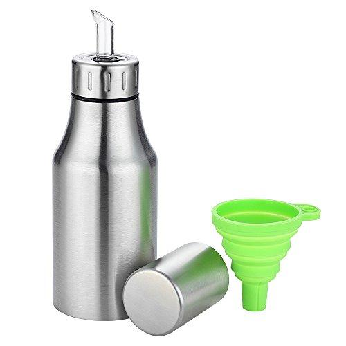 (17oz Oil Dispenser Oil Vinegar Pourer Bottle Olive Oil Container Safey Exquisitely Leak Proof Unbreakable Oil Quantity Control Fits Perfect for BBQ )
