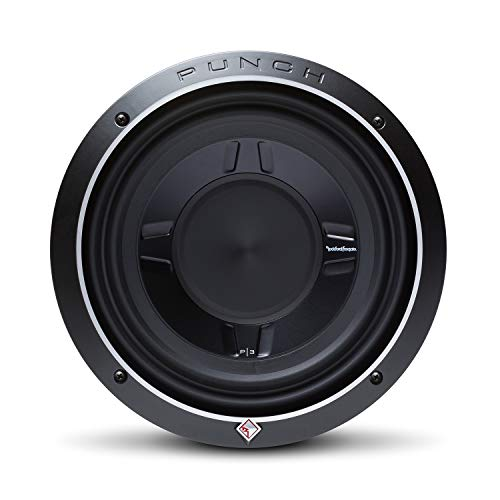 "Rockford Fosgate P3SD4-10 Punch P3S 10"" 4-Ohm DVC Shallow Subwoofer"