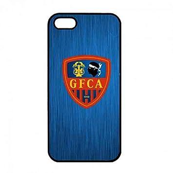 For iPhone 5/ iPhone 5s Phone Funda,Athletic Club Ajaccio ...