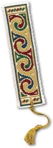 Textile Heritage Celtic Jewel Counted Cross Stitch Bookmark Kit